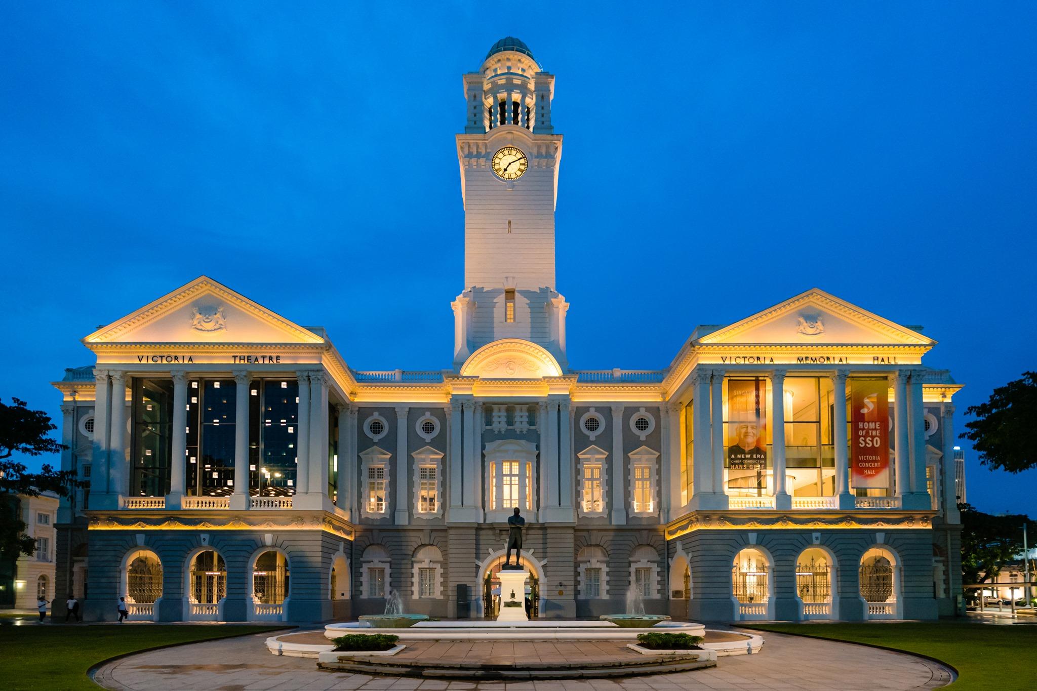 Victoria Theatre and Concert Hall Singapore