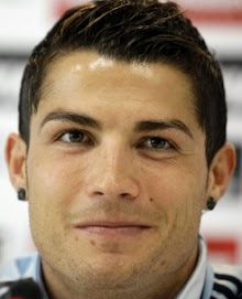 Real Madrid 2009-10 hair style of Cristiano Ronaldo