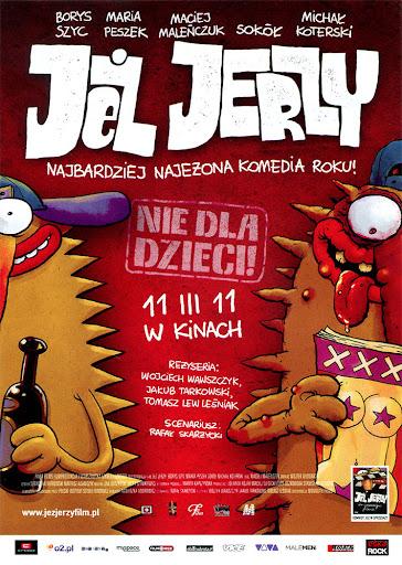 Przód ulotki filmu 'Jeż Jerzy'