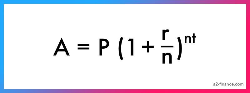 Fórmula de interés compuesto 2