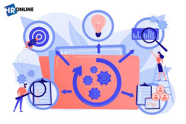 Phần mềm HrOnline giúp xây dựng bộ chỉ tiêu đánh giá