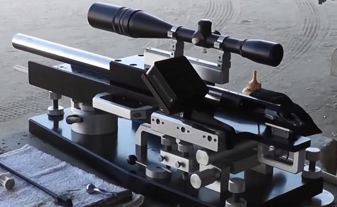 A benchrest rifle