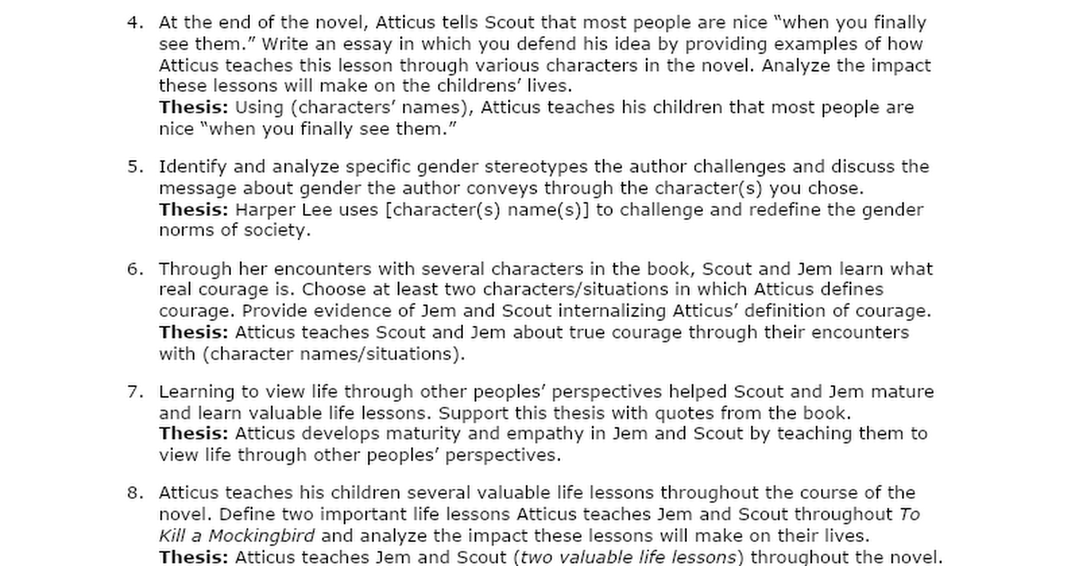 top five to kill a mockingbird atticus finch character analysis