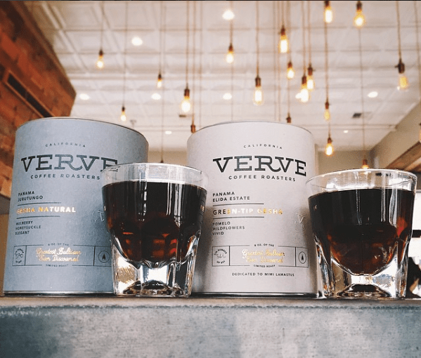 Image of coffee from Verve Coffee Roasters