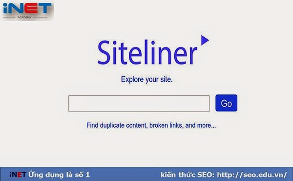 Siteliner check copy nội dung
