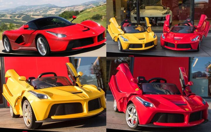 Các kiểu xe Ferrari 82700