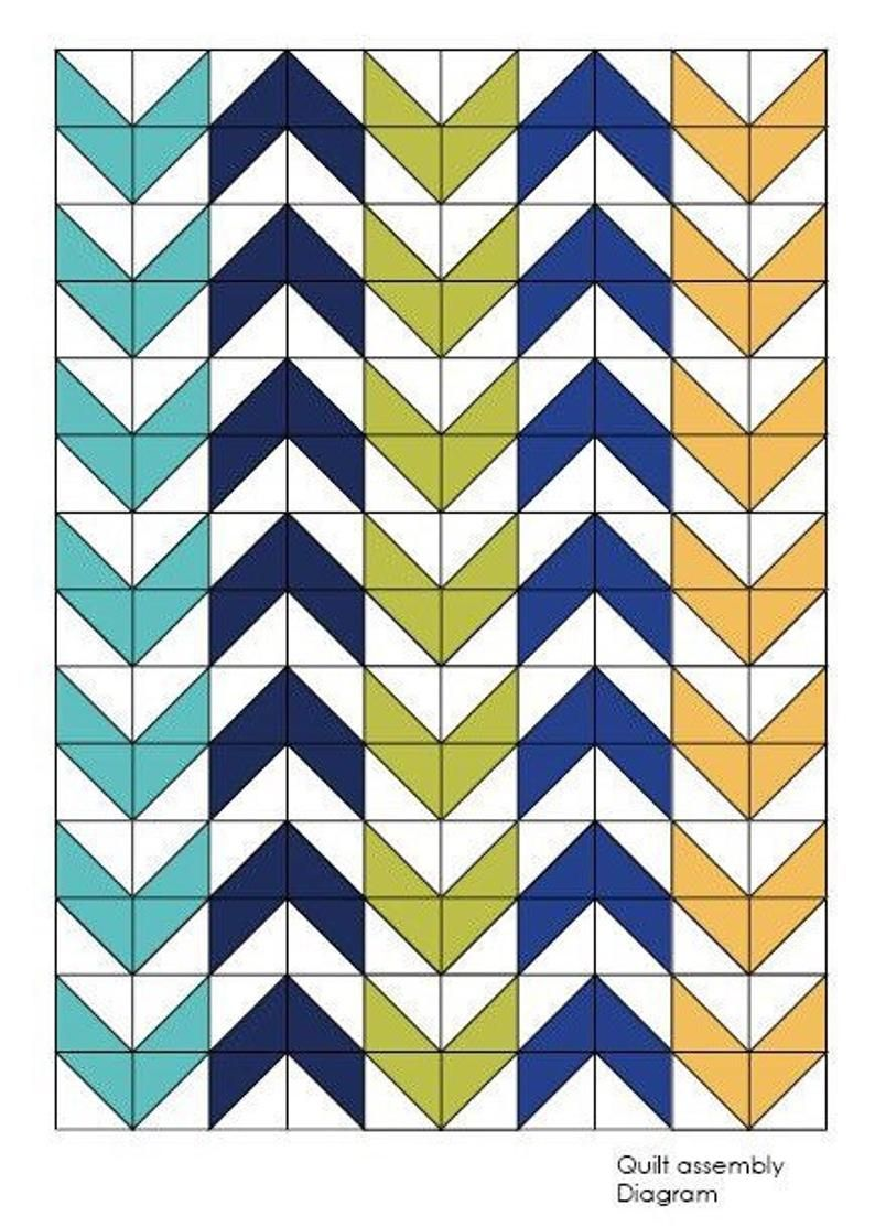 The Arrow Baby Quilt