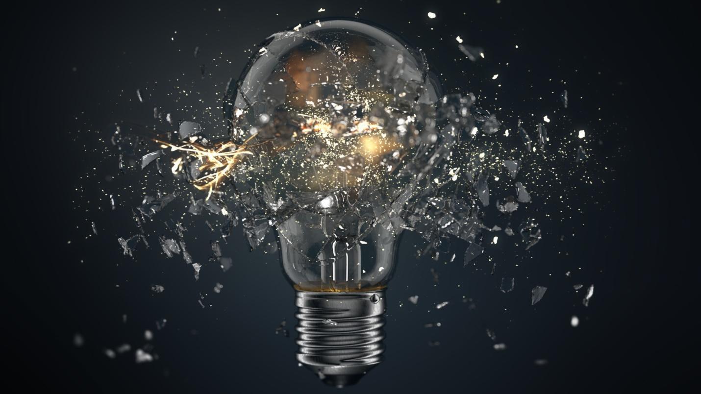 ArtStation - Exploding Lightbulb, Hannes Dreyer