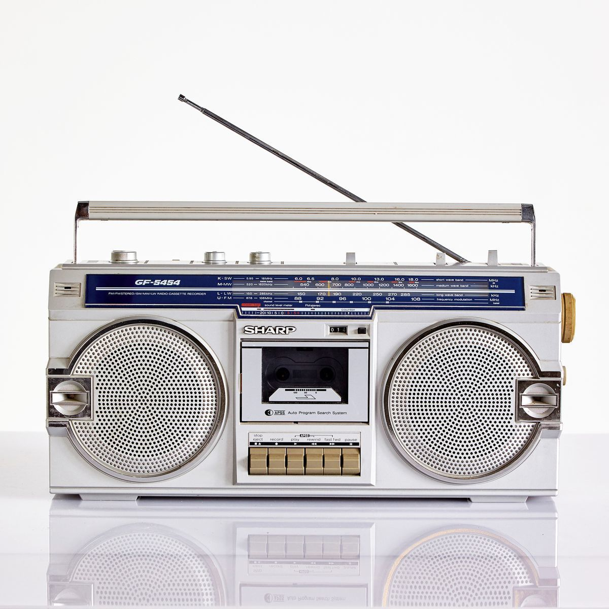 Vintage cassette player from Sharp