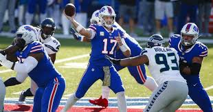 Josh Allen and Bills defeat Seahawks; Chiefs beat Panthers - Los Angeles  Times