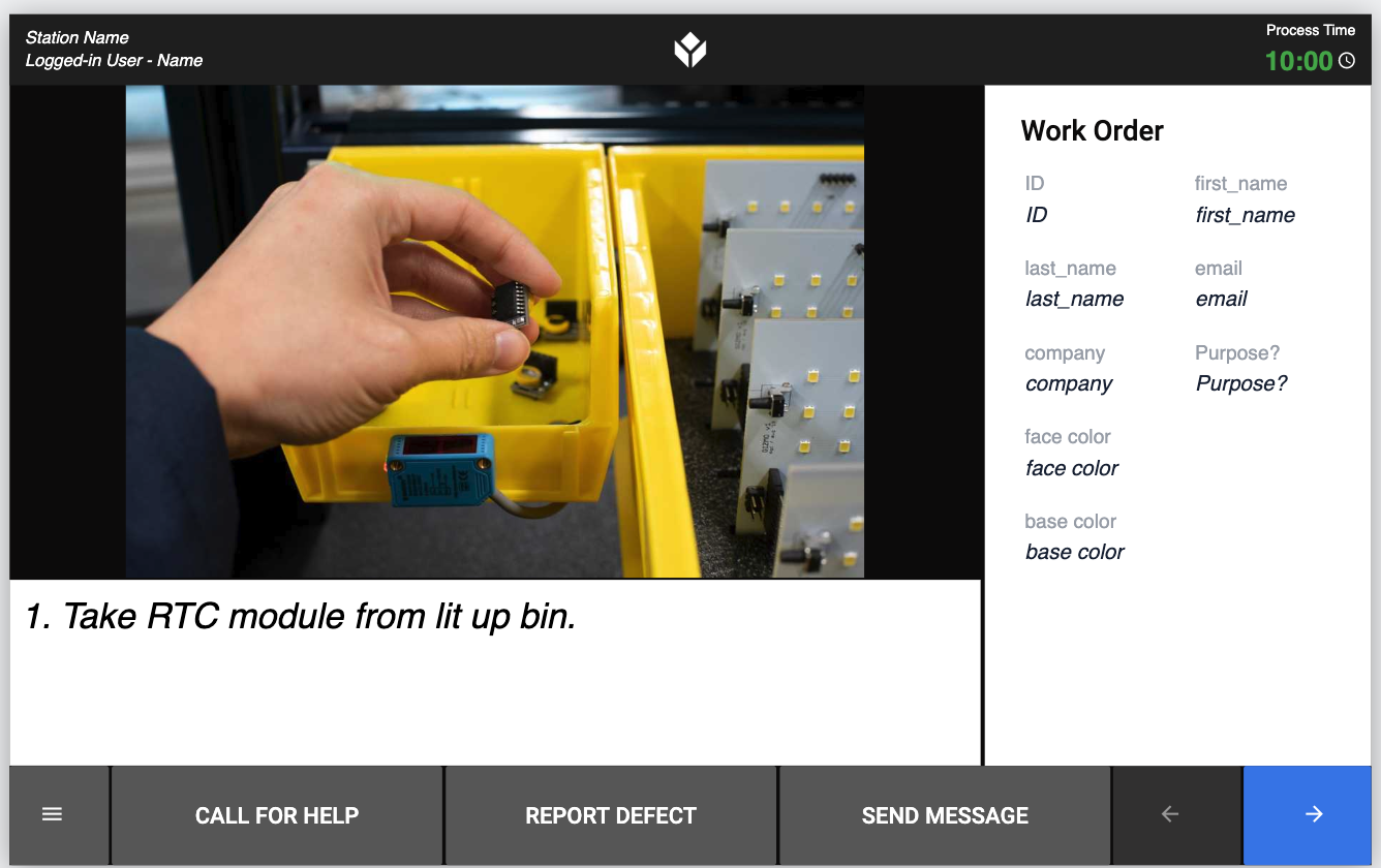 Take an rtc module from the lit bin as step one in the word clock assembly