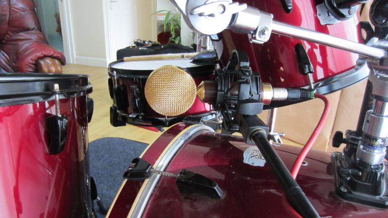 Tchad Blake drum recording method
