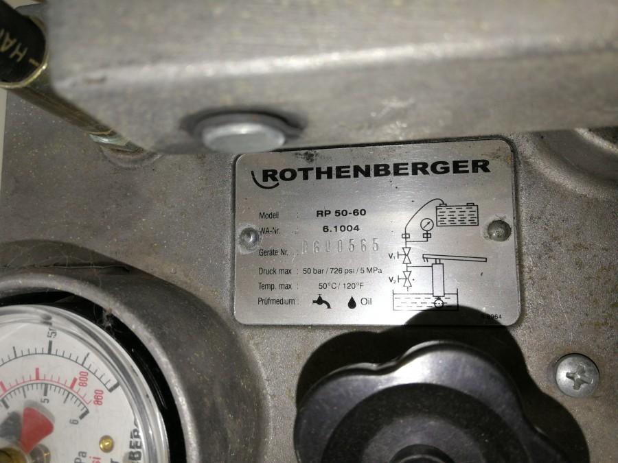 Pompa do prób ciśnieniowych