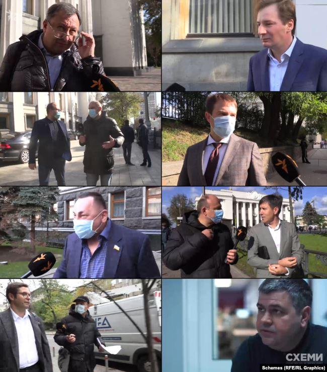 «Схеми» звернулися до народних обранців, щодо яких виникли питання після аналізу їхніх депутатських звернень