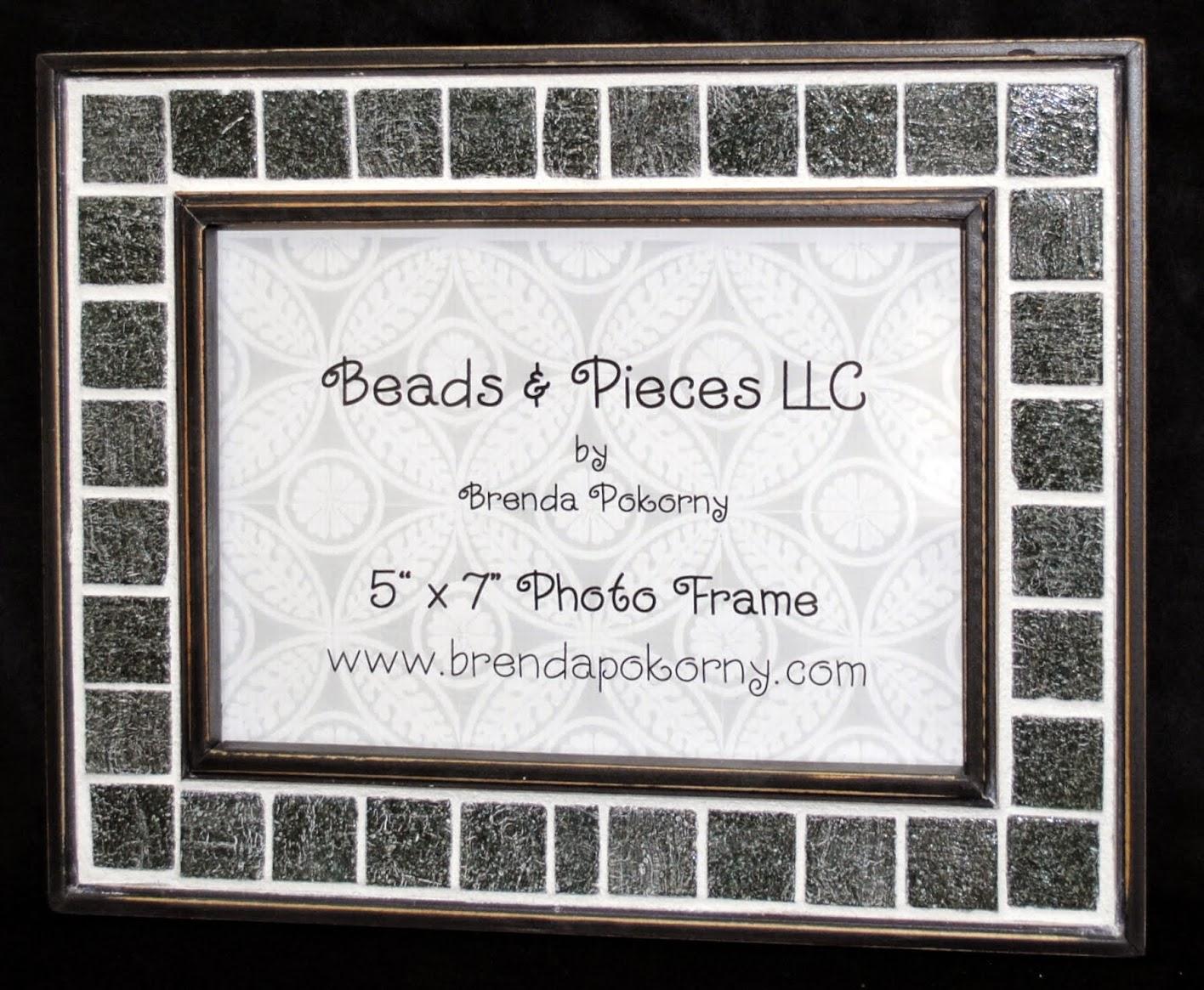 Gray Flannel 5 x 7 Mosaic Photo Frame MOF1385