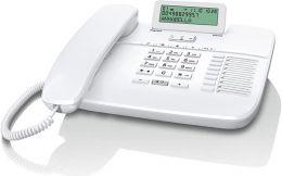 Gigaset - standardní telefon s displejem, barva bílá
