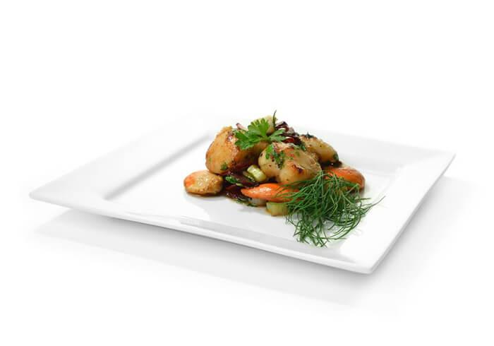鮮甜的干貝、搭配一些帶清香的香草植物,能讓香氣更加豐富而跳躍喔!
