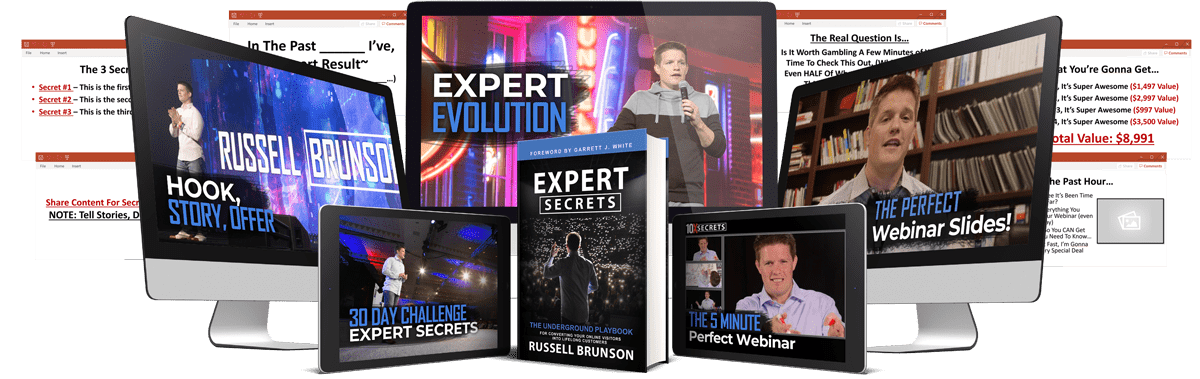 Our expert secrets review bonus package