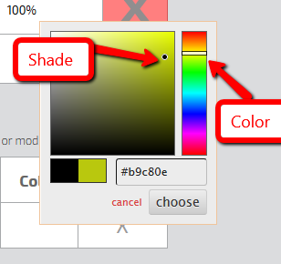 Custom Status Color Options