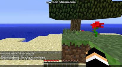 Minecraft survival island multiplayer server ip