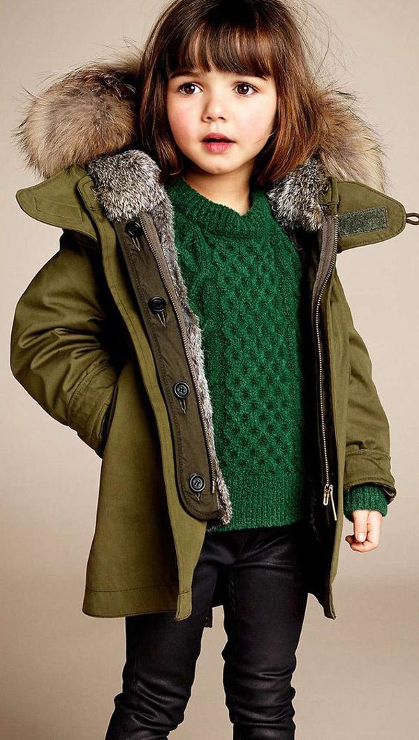 komplety ubrania dla dziewczynek na zime 2018