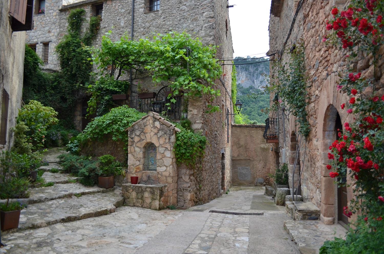 El pueblo de Farena en Tarragona