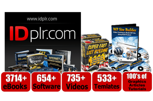 IDPLR Review – 12,590+ PLR Products - Citizen Affiliate