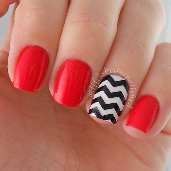 cute nail designs creem (15)