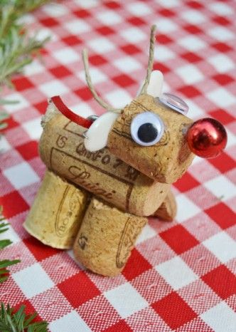 cute cork ornaments