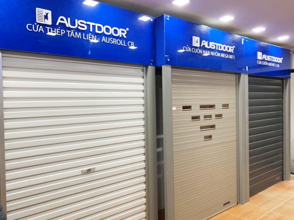 Cửa cuốn Austdoor mang đến chất lượng uy tín
