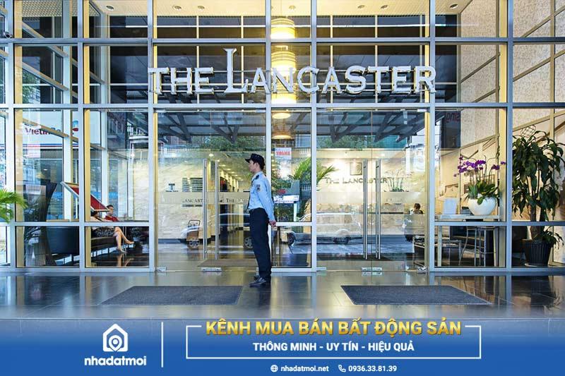 quy mô tòa nhà The Lancaster