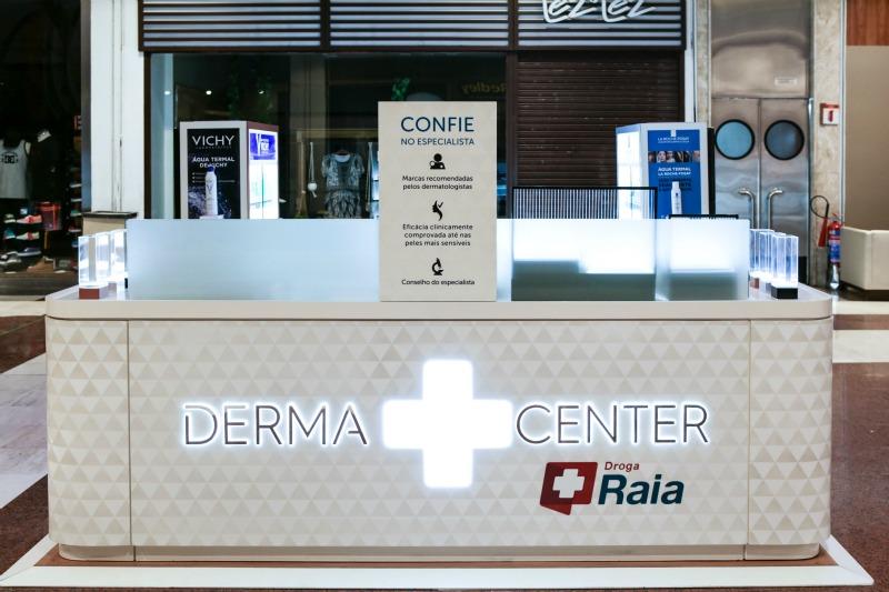 Dermacenter: quiosques com produtos e serviços da Cosmética Ativa da Loreal