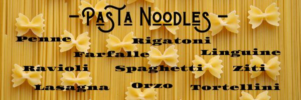 High Calorie Foods - Pasta 2