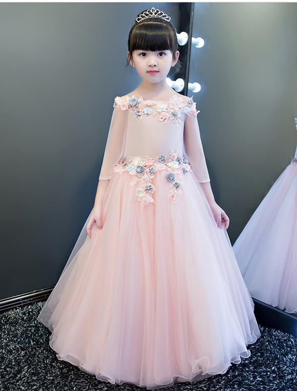26d38e3d68 HOT  32 najpięknych fasonów sukienki dla dziewczynek na specjalne ...