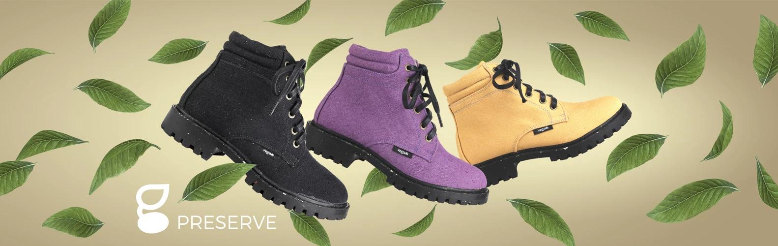 botas vegalli: sapato sustentável