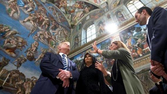 Tổng thống Trump và Đức Giáo hoàng Phanxico cùng nhau ủng hộ tự do tôn giáo