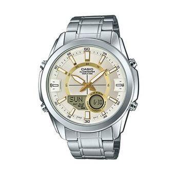 Đồng hồ Casio AMW-810D-9AVDF - nam - quartz (pin) dây kim loại