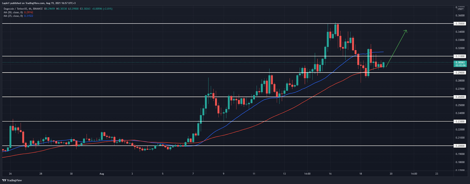 Dogecoin Price Analysis: DOGE consolidates above $0.29, prepares for another rally?