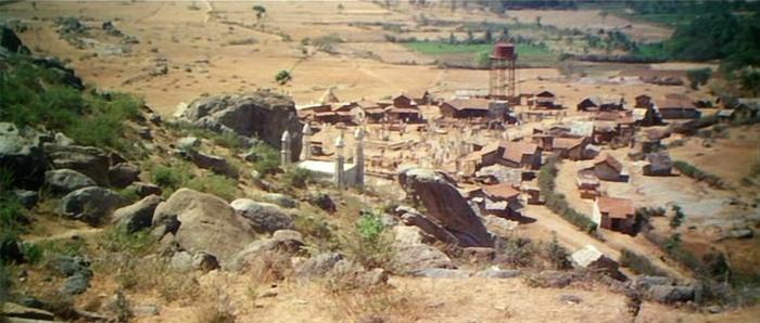 Image result for Sholay  film set