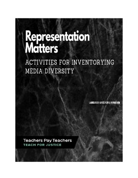 Representation Matters Activities for Inventorying Media Diversity
