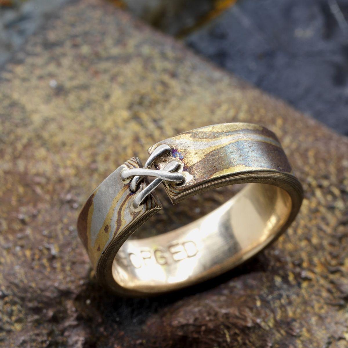 Divorce Ring | Rings, Unique rings, Rings for men
