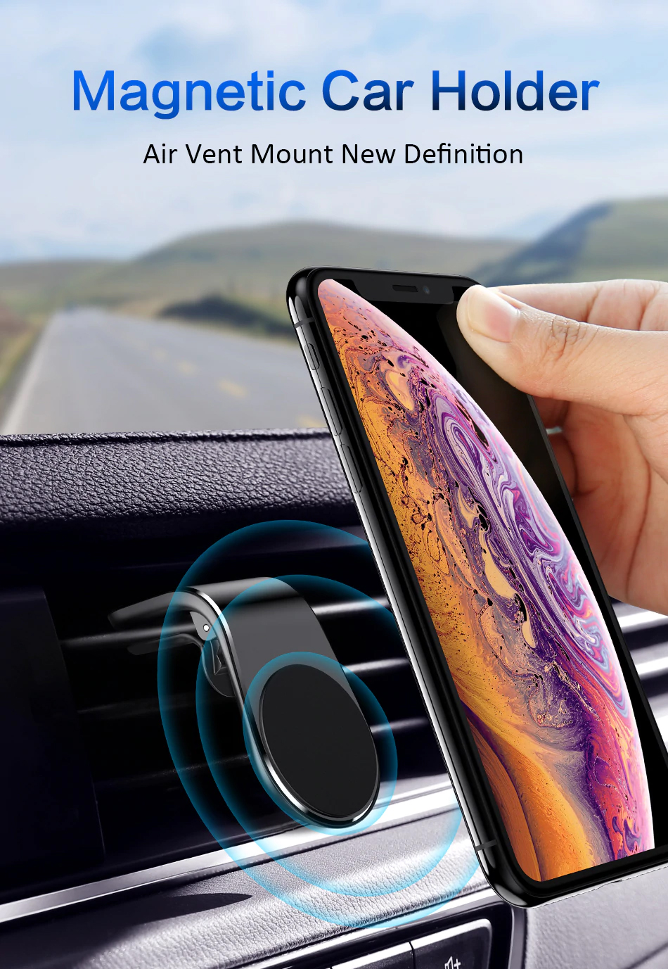 FREE Magnetic Phone Holder for...