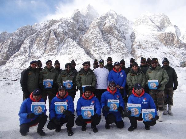D:\JFL Media List\Press Release\Domino's in Siachen.jpg