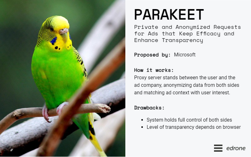 an overview of parakeet - private and anonymized requests for ads that keep efficacy and enhance transparency