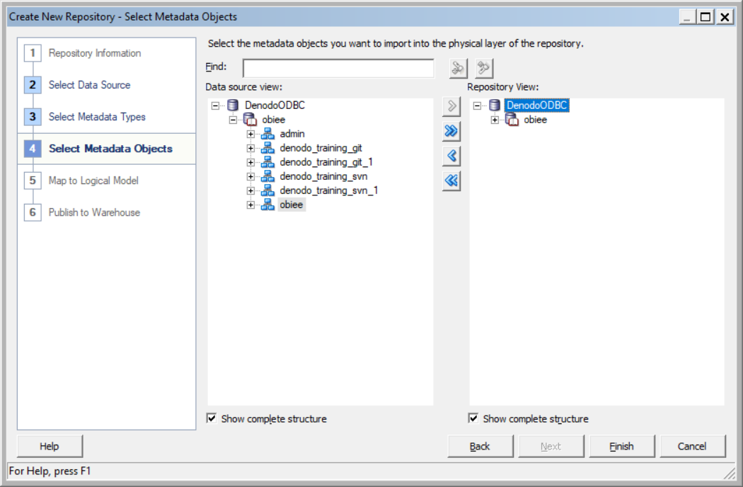 How to access to VDP from OBIEE via ODBC in Linux