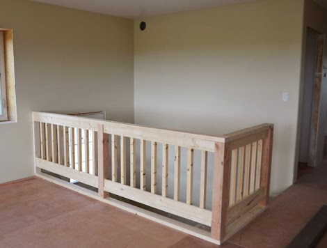 Diying A Wood Handrail Ana White Woodworking Projects