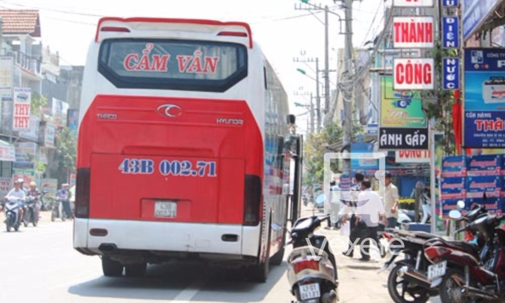 Xe Cẩm Vân từ Sài Gòn đi Đà Nẵng