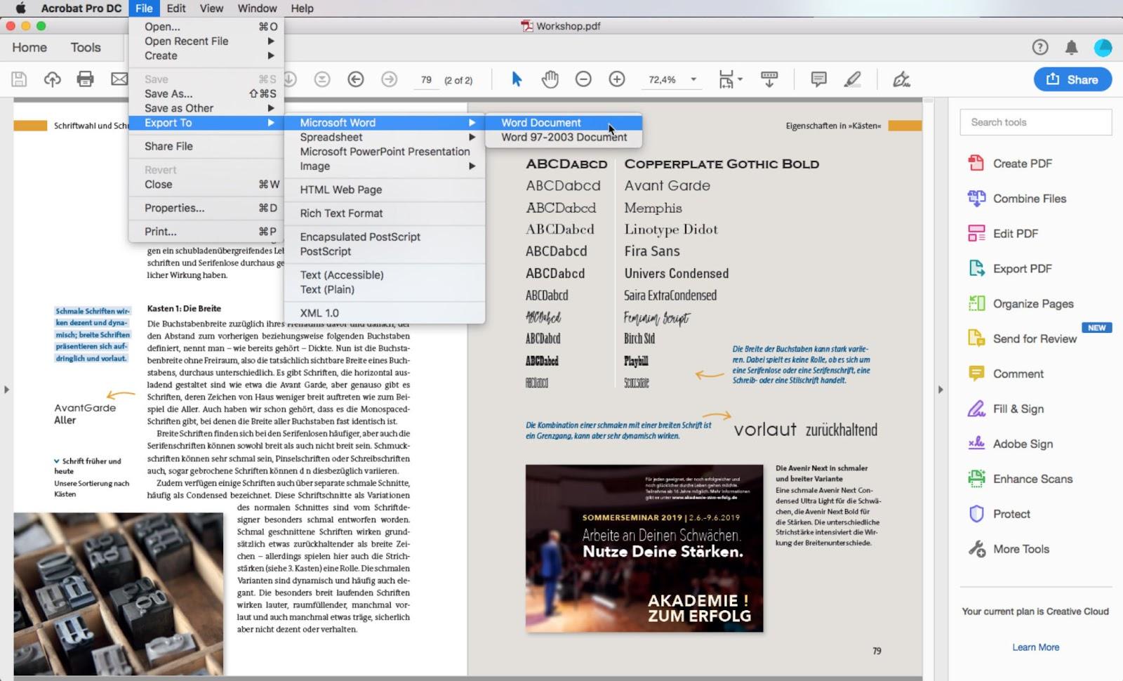 convertir pdf a word