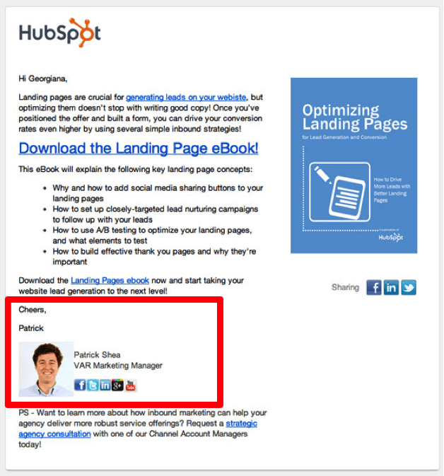 hubspot cta red
