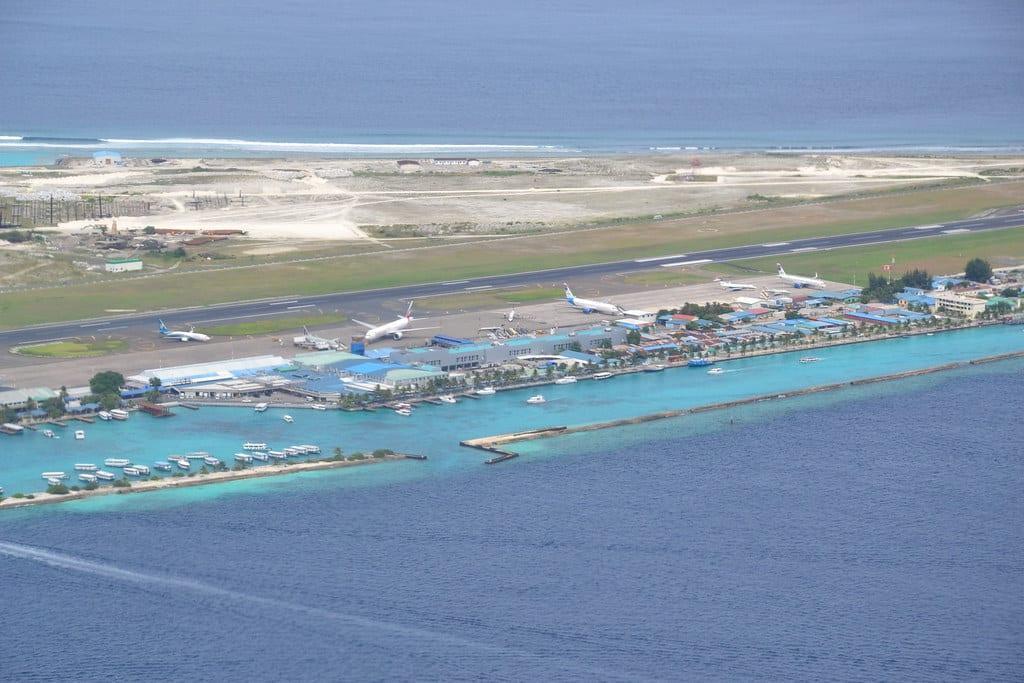 Maldives airport